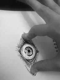 Image result for drawings of creepy eyes