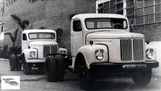 First Brazilian truck Scania L75, in 1958.