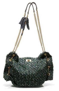 Luxe Tweed Hobo Bag from J. Crew