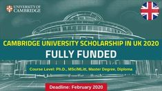 Cambridge University Scholarship in UK 2020 (Fully Funded) Physical Science, Social Science, Life Science, Cambridge University Courses, Scholarships In Uk, Spelling And Handwriting, List Of Courses, Uk Universities, Human Body Systems