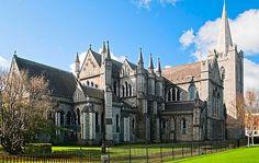 Patrick's Cathedral in Dublin, Ireland Dublin Travel, Ireland Travel, St Patricks Cathedral Dublin, Dublin Nightlife, Dublin Things To Do, Ireland Attractions, Trinity College Dublin, Dublin Castle, Gulliver's Travels