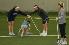 UConn and Fairfield Team Up For Newtown Lacrosse Clinic