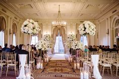 This New York City wedding at the Yale Club of New York is definitely one for the books. The elegance captured by Brian Hatton radiates a luxe glamour.