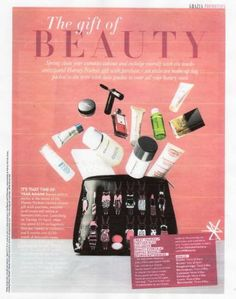 Grazia's essential travel bag holds home to our travel triple oxygen instant energizing mask...