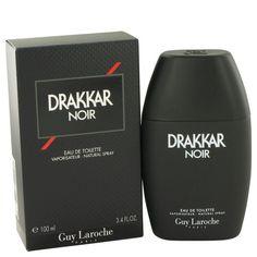 Drakkar Noir By Guy Laroche EDT Spray 3.4 Oz For Men