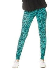 Terranovastyle.com - Long stretch leggings. Spotted leopard pattern.