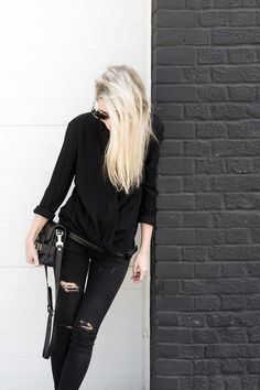 #allblack #simple #fashion #inspiration