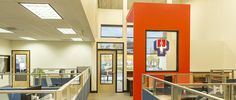 Paddle Palace, Tigard, OR, open office furniture, modern office design, Design and Construction by Emmett Phair