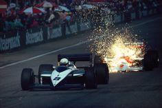 1987 - Austria - Andrea De Cesaris (Brabham) VS Stefan Johansson (Mclaren)