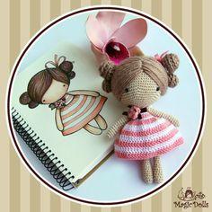magicdolls: Crochet dolls
