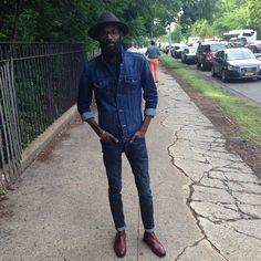 Looks negros com Jeans - Inverno 2015 | Estilo Black - Moda para Homens Negros