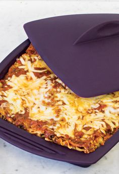 Speedy Lasagna can be made vegetarian if needed. Epicure Recipes, Cooking Recipes, Epicure Steamer, Great Recipes, Favorite Recipes, Yummy Recipes, Steamer Recipes, Good Food, Yummy Food