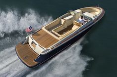 A new Chris Craft open bow (bow rider)  boat