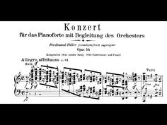 Schumann: Piano Concerto in A minor, Op.54 (Shelley) - YouTube