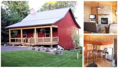 Continuing on a theme we've recently been exploring a little, metal buildings and metal construction in general, there's this barn house. A lot of people like the idea of the barn layout for...