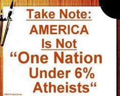One nation, Under GOD, indivisible, with LIBERTY & JUSTICE FOR ALL!