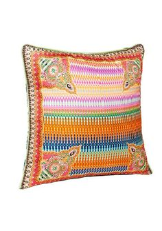 Camilla - Loom lovers small square cushion 45 x 45cm