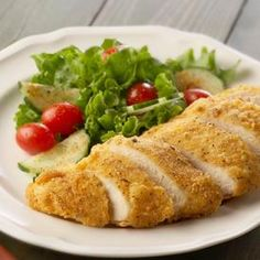 Boneless Oven-Fried Chicken