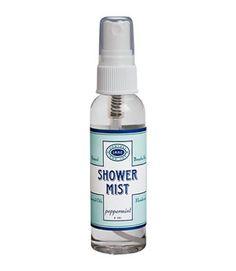 Peppermint Shower Mist - $18