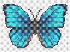 Creaciones de Hama Beads: Mariposas Hama Beads