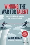"Regardless of the economic landscape, companies consistently struggle with attracting and keeping the right people. To help alleviate the high rate of employee turnover and successfully boost talent retention, Mandy Johnson created a ""Highfliers 7-step System."" Detailed in Winning the War for Talent, this system strives to give companies the tools necessary to recruit, inspire, and retain the best people possible, then help them thrive."