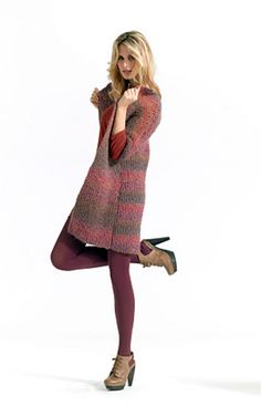Ravelry: Long and Lean Jacket pattern by Lion Brand Yarn