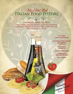 Feast of Saint Mark Italian Food Festival, April 25, 2015