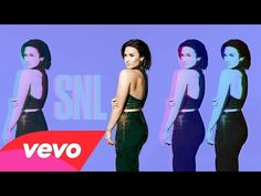 Demi Lovato - Stone Cold (Live on SNL) - YouTube