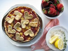 Gluten-Free Peach & Strawberry Welcome Home Hubby Pie - The Best of this Life