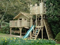 If you are in UK, check them out treehouse design over at Cheeky Monkey Treehouses