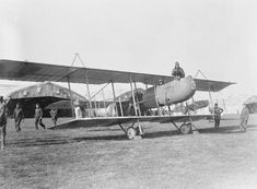 Farman F.40 French pusher bombing biplane