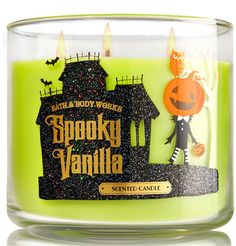 Bath and Body Works Spooky Vanilla Candle