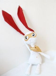 Décoration Super Christobald le lapin de Noël
