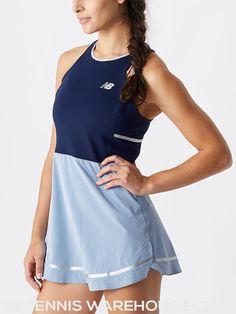 New Balance Women's Fall Tournament Slambray Dress Tennis Wear, Tennis Dress, Tennis Clothes, White Tennis Skirt, Pleated Tennis Skirt, Nike Skirts, Golf Skirts, Tennis Tops, Swim Skirt