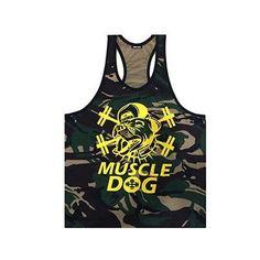 a34cef0972ee4 Golds Men s Fitness Muscle Tank Tops Bodybuilding Singlet Camouflage Men s  Stringer Tank Top Vest