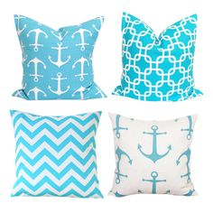 Anchor Throw Pillow Case