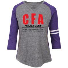Afrikmax CFA Ladies' Vintage V-neck Shirt