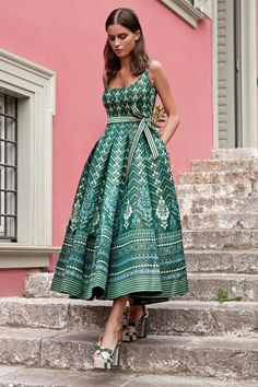 Resort A Ready To Wear Anita Dongre Collection That Newlywed Wives Can Flaunt As Their Honeymoon Dresses - Indian designer outfits - Indian Gowns Dresses, Indian Fashion Dresses, Indian Designer Outfits, Fashion Outfits, 70s Fashion, Fashion Weeks, Dress Fashion, Hijab Fashion, Bridal Dresses