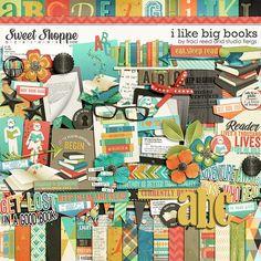 Sweet Shoppe Designs :: Shop by DESIGNER :: Studio Flergs :: I Like Big Books by Traci Reed & Studio Flergs