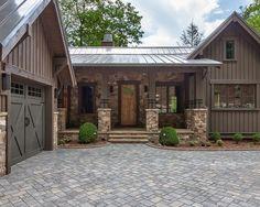 rustic+home+exterior | Gallery of Unique Rustic Home Exterior Design