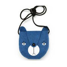 Bear bag by Mini Dressing - Blue