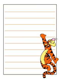 "Tigger - Project Life Journal Card - Scrapbooking ~~~~~~~~~ Size: 3x4"" @ 300 dpi. This card is **Personal use only - NOT for sale/resale** Logo/clipart belongs to Disney. *** Click through to photobucket for more versions of this card with different Tigger poses ***"