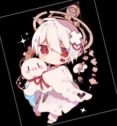 Chica Gato Neko Anime, Cute Anime Chibi, Chica Anime Manga, Cute Anime Guys, Cute Anime Couples, Anime Art, Loli Kawaii, Kawaii Chibi, Kawaii Art