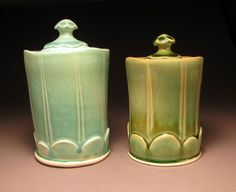 Lauren Smith Pottery jars