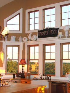 windows, windows, windows! and a gorgeous ledge to decorate with the seasons!