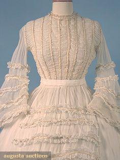 d7584d0ae 1860s wedding dresses