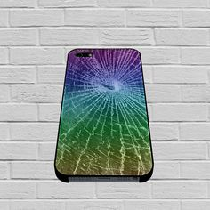 Colorful Cracked Screen case for iPhone, iPod, Samsung Galaxy, HTC One, Nexus
