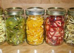 Jak sušit ovoce v elektrické troubě + příklady