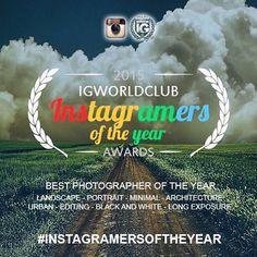 #INSTAGRAMERSOFTHEYEAR  Para celebrar la cuenta mundial número 300 de nuestra comunidad decidimos crear un premio para los mejores fotógrafos del mundo: INSTAGRAMERS DEL AÑO.  Participar es muy sencillo ya que la competencia se llevará a cabo en dos etapas. En la primera fase todas las cuentas de ciudades y países de nuestra comunidad elegirán las mejores fotos etiquetadas  Ejemplo: @ig_cuneo_ elige la mejor foto  entre las etiquetadas con el hashtag #instagramersoftheyear_cuneo  En la…