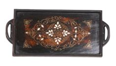 mother of pearl inlaid tray